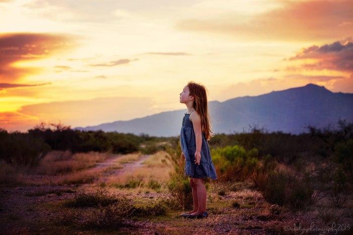 Lyla and the Sunset